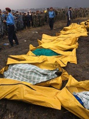 Tiêu điểm - Máy bay bốc cháy khi hạ cánh tại Nepal: Ít nhất 40 người chết (Hình 2).