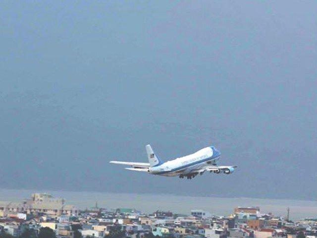 Xã hội - Tổng thống Trump lên máy bay rời Đà Nẵng (Hình 6).
