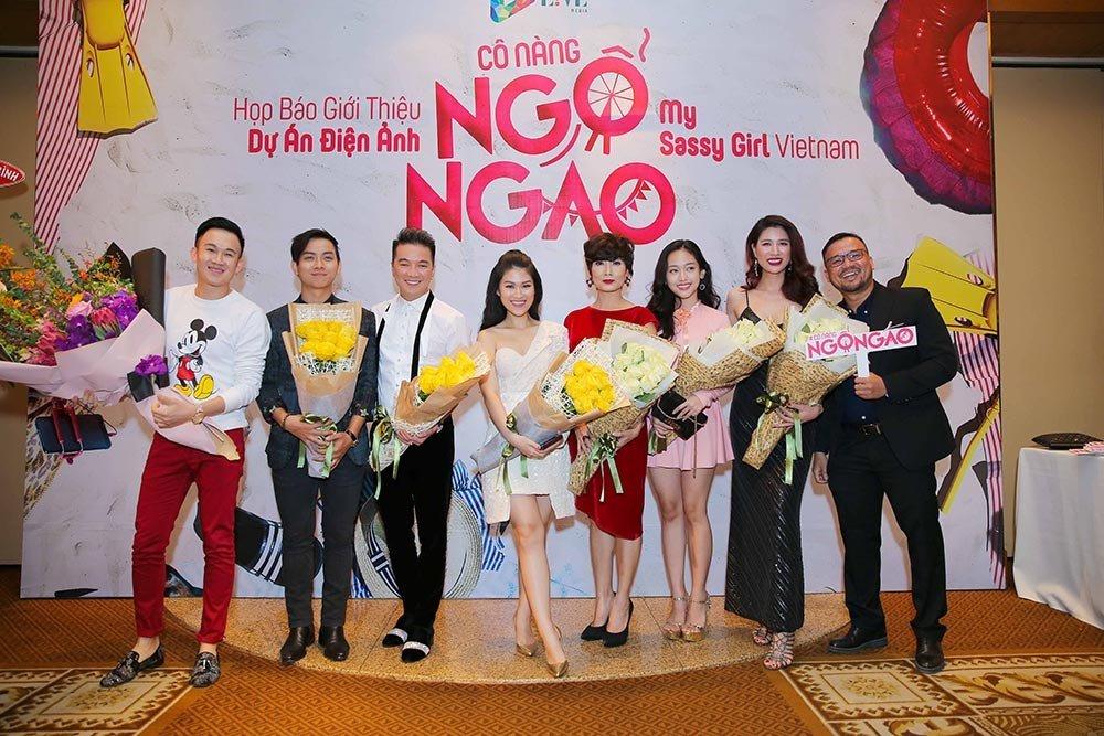 Giải trí - Đàm Vĩnh Hưng, Hoài Lâm, Trang Trần trở lại màn ảnh rộng với 'Cô nàng ngổ ngáo'