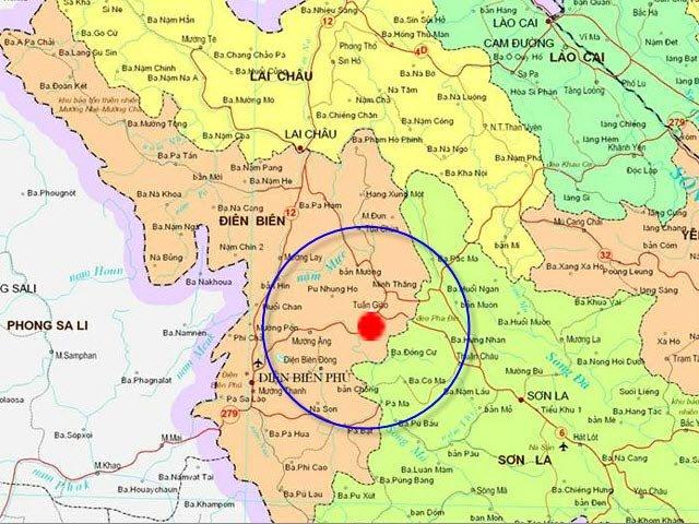Điểm nóng - Điện Biên là nơi xảy ra động đất nhiều nhất nước