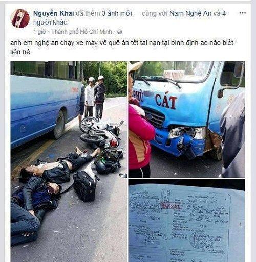 Tin nhanh - Thiếu tiền đi ô tô, nam thanh niên tử vong khi về quê ăn Tết bằng xe máy