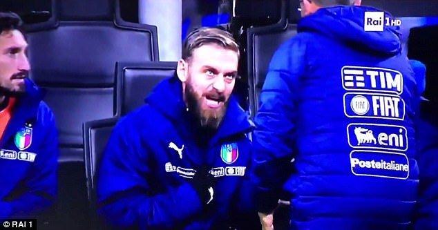 Bóng đá Quốc tế - Daniele de Rossi: 'Thay tôi vào làm quái gì? Ta đâu cần hòa?'