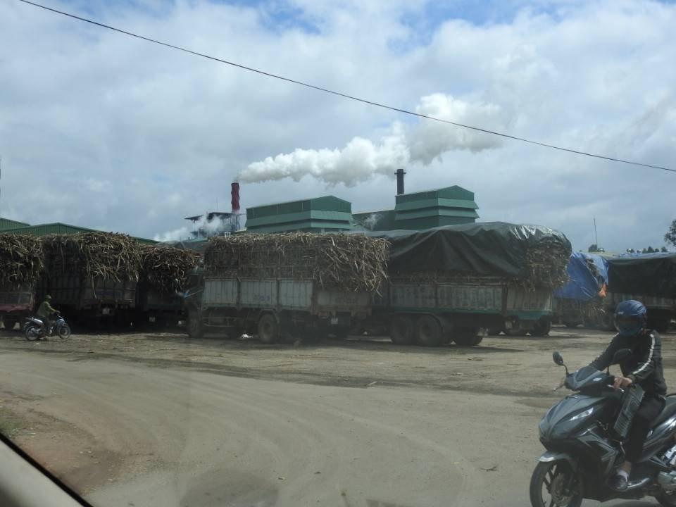 """Điểm nóng - Đắk Lắk: Nhà máy mía đường 333 chạy thử """"chui"""" gây ô nhiễm (Hình 3)."""