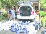 Pháp luật - Bắt quả tang ô tô vận chuyển 5.000 gói thuốc lá ngoại nhập lậu