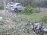 An ninh - Hình sự - Điều tra vụ va chạm va giao thông làm người đi xe máy tử nạn