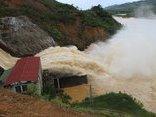 Chính trị - Xã hội - Nước lên nhanh, nhà máy thủy điện Hố Hô mở 3 van xả lũ