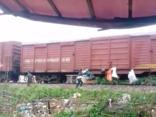 Điểm nóng - Hà Tĩnh: Dân xử lý rác bằng cách treo lên... toa tàu hỏa