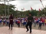 Giáo dục - Hà Tĩnh: Thầy, trò cùng nhảy Disco gây sốt cộng đồng mạng