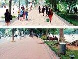 Mới- nóng - Clip: Hà Nội đề xuất lát đá hoa cương cho vỉa hè Hồ Gươm và suy nghĩ của người dân