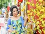 Ngôi sao - Á hậu Trịnh Kim Chi diện áo dài hóa quý cô kiêu kỳ đón Tết