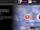 Thủ thuật - Tiện ích - Hướng dẫn xem trực tiếp bán kết U23 Việt Nam-Qatar đơn giản nhất trên smartphone