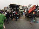 Chính trị - Xe khách tông xe cứu hỏa: Khả năng tránh được va chạm rất thấp