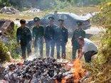 Tin nhanh - Quảng Ninh: Tiêu hủy gần 2.500 gói thuốc lá nhập lậu