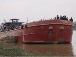Xã hội - Một ngư dân mất tích sau va chạm với tàu hàng trên sông Trà Lý
