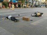 Tin nhanh - Người đàn ông chết thảm vì bị xe container đâm khi sang đường