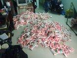 An ninh - Hình sự - Bắt quả tang cơ sở sản xuất bột ngọt giả từ nguyên liệu Trung Quốc