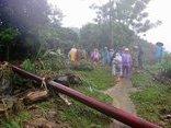 Chính trị - Xã hội - Huyện Đà Bắc, Hòa Bình thiệt hại lớn sau mưa lũ