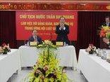 """Tin tức - Chính trị - """"Trong trái tim mình, tôi mong sớm đến làm việc với Hội Luật gia Việt Nam"""""""