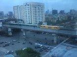 Video - Clip: Đoàn tàu Cát Linh - Hà Đông bất ngờ lăn bánh trên đường trên cao