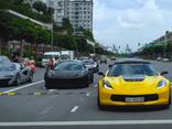 Video - Clip: Cận cảnh dàn siêu xe trăm tỷ của Cường Đô La trên phố Sài Gòn