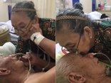 Giải trí - Clip: Khoảnh khắc cụ bà dặn dò chồng trên giường bệnh khiến nhiều người rơi lệ