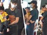 Giải trí - Clip: Con trai Huỳnh Hiểu Minh - Angela baby lần đầu tiên lộ rõ mặt