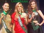 Sự kiện - Hoa hậu Trái đất 2017: Hà Thu đạt giải đồng Trang phục dạ hội