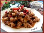 Gia đình - Công thức chế biến sụn heo rim mắm cá đậm đà ngon cơm