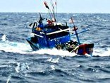 Tin nhanh - Chưa tìm thấy 7 ngư dân mất liên lạc trên biển 13 ngày trước