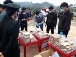 An ninh - Hình sự - Quảng Ninh: Tiêu hủy 260 bánh heroin trong vụ án Suliyavong Sakhone