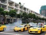 Xe++ - Dàn siêu xe hội tụ, 'đốt lốp' trên đường phố Sài Gòn
