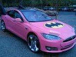Xe++ - Tesla Model S độ phong cách 'Người dơi' quyến rũ nhất thế giới