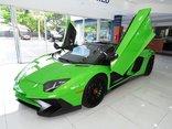 Xe++ - Lamborghini Aventador màu xanh cốm Verde Mantis độc nhất thế giới