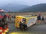Tin nhanh - Nóng: Hàng chục người thương vong sau vụ lật xe thảm khốc