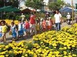 Tiêu dùng & Dư luận - TP.Cần Thơ: Làng hoa nhộn nhịp ngày cận Tết