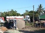 Chính trị - Xã hội - Hé lộ nguyên nhân xe bồn chở hơn 46.000 lít dung môi lật nhào xuống ruộng