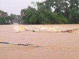 Video - Toàn cảnh trận lụt ở Hà Tĩnh sau khi áp thấp nhiệt đới đổ bộ