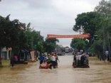 Xã hội - Mưa lớn, Quốc lộ 1A qua Thanh Hóa bị ngập nặng