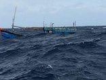 Xã hội - Thót tim cảnh ngư dân nỗ lực cứu 4 người đang chới với giữa sóng dữ