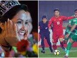 Ngôi sao - Lời chúc của Hoa hậu H'Hen Niê gửi tới U23 Việt Nam trước thềm bán kết
