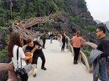 Xã hội - Ninh Bình: Lạ lùng công trình 'khủng' không phép mọc ở Tràng An