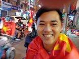 An ninh - Hình sự - Cảnh sát lên đường ngay khi đội tuyển U23 Việt Nam thắng trận