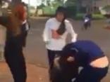 Xã hội - Xử lý nghiêm nhóm học sinh THCS đánh nhau giữa đường