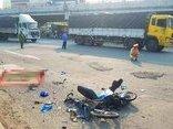 Tin nhanh - Nữ sinh chết thảm dưới bánh xe container