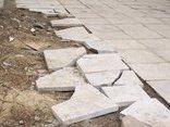 Xã hội - Hà Nội: Cận cảnh đá lát vỉa hè nát bươm sau 1 năm sử dụng