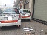 Kinh doanh - Vụ taxi dán khẩu hiệu: Sở GTVT lên tiếng, Vinasun... 'xuống nước'