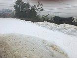 Xã hội - 'Sông tuyết' ở Hà Nam, dân sơ tán trẻ nhỏ vì sợ... độc