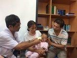 Các bệnh - Cấp cứu cháu bé bị chó cắn mất mũi