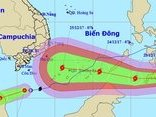 Tin nhanh - Có thể phải di dời gần 167.000 dân nếu bão số 16 vào Bà Rịa – Vũng Tàu
