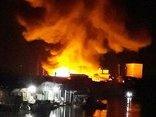 Tin nhanh - Kiốt bán hàng Tết bốc cháy trong đêm, hai vợ chồng tử vong
